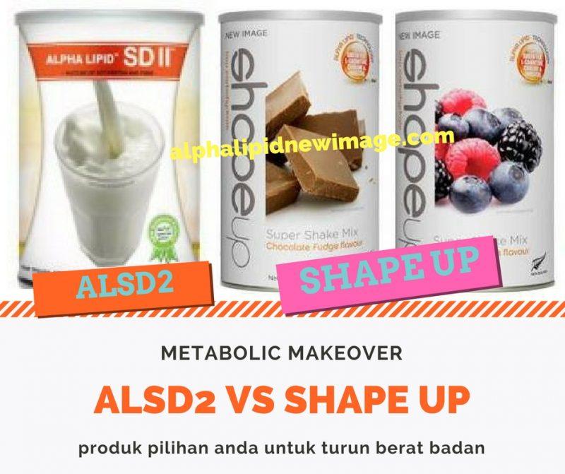 beza berdiet alpha lipid alsd dengan shapeup